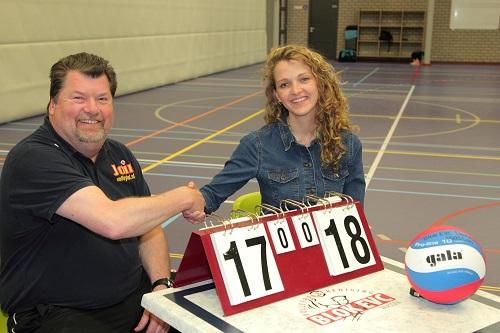 Hans Stijf nieuwe trainer van Blok EVC Dames 1