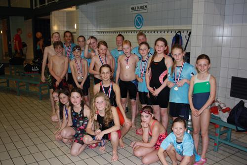 ZVV minioren zwemmers naar de Gelderse Finale