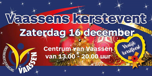 kerstevent in het centrum Vaassen
