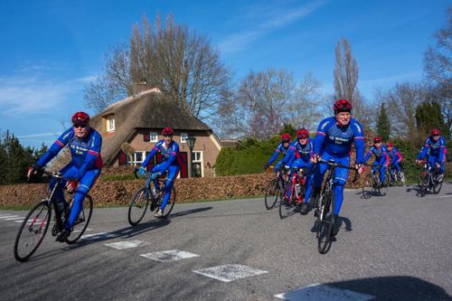 TC Veluwe organiseert voor de 36e keer toertocht '' Op het Kleine blad''