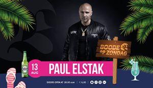"Paul Elstak Zondag 13 augustus 20:30 uur, in ""Boode"" te  Bathmen"