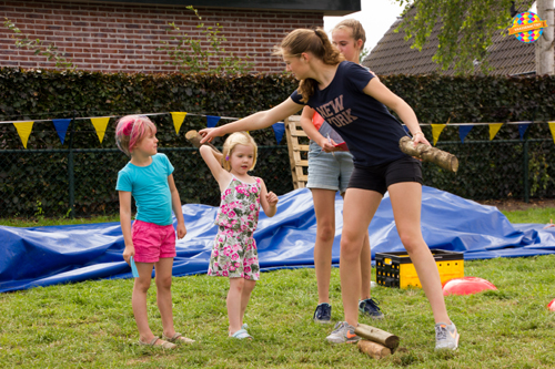Foto's kindermiddag Geerstraatfeest