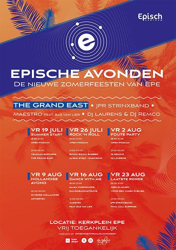 Epische Avond: Summer start!    –  Kerkplein Epe