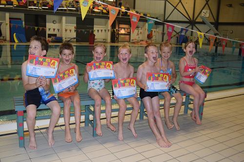 Diploma zwemmen  Zomerturbo