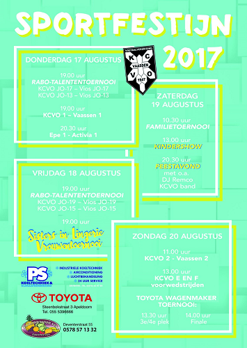KCVO Sportfestijn 2017