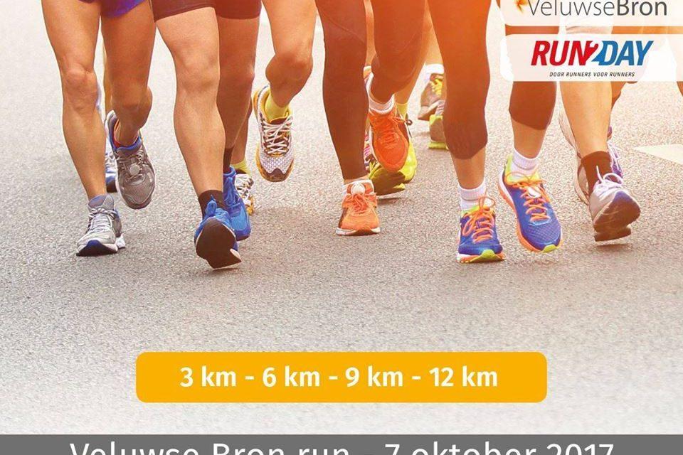 Veluwse Bron Run 7 oktober 2017