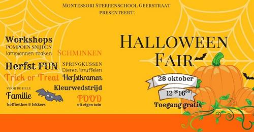 Halloween Fair Sterrenschool Geerstraat