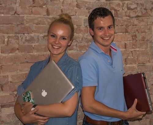 Vaassense ondernemers Eline Potappel en Geert Jan Dalhuisen gaan de samenwerking aan!