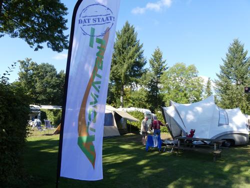 10 jarig jubileum Atomatent met een tentenshow in Emst