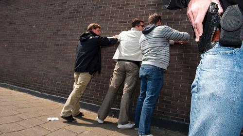 Politie pakt woningovervallers op heterdaad