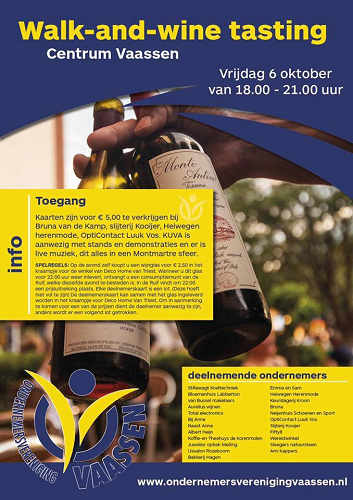 Walk- and- Wine -tasting centrum Vaassen