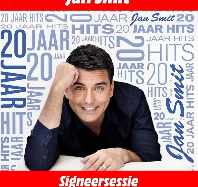 Signeersessie Jan Smit