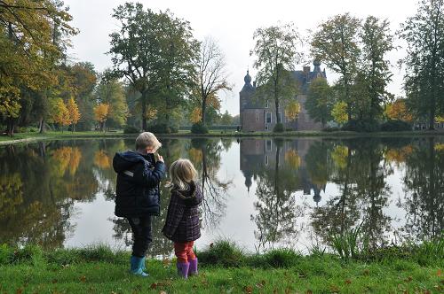 Herfstspeurtocht in kasteelpark Cannenburch