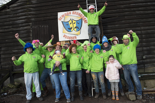 Carnavalsgroep Gewoon Deurgoan Vaassen zoekt een bouwlocatie!