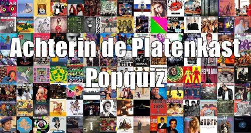 Zondag 5 november 2017: Achterin de Platenkast Popquiz