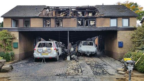 Twee mannen aangehouden in onderzoek naar branden