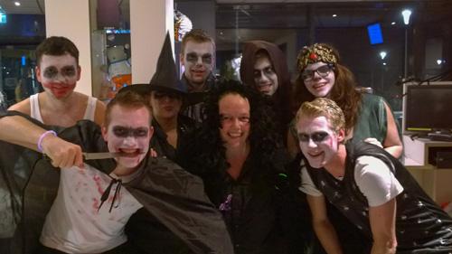 Halloweendisco in De Koekoek