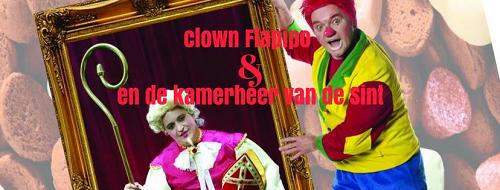 Sinterklaasvoorstelling met Clown Flapipo