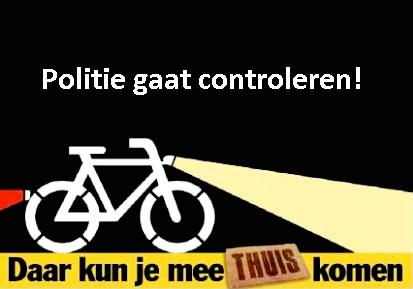 Controle fietsverlichting