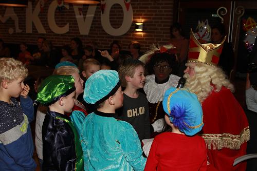 Sinterklaasfeest  KCVO druk bezocht.