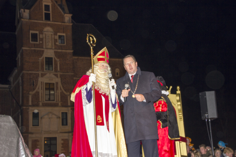 Sinterklaas is aangekomen in Vaassen