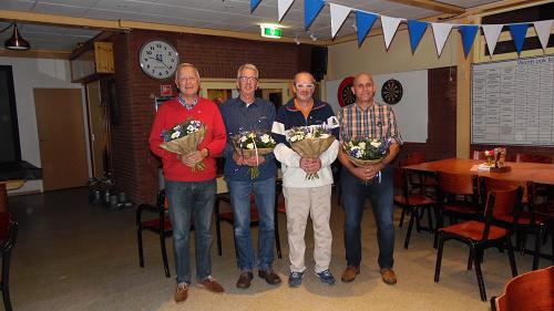Vijf jubilarissen bij SV Vaassen