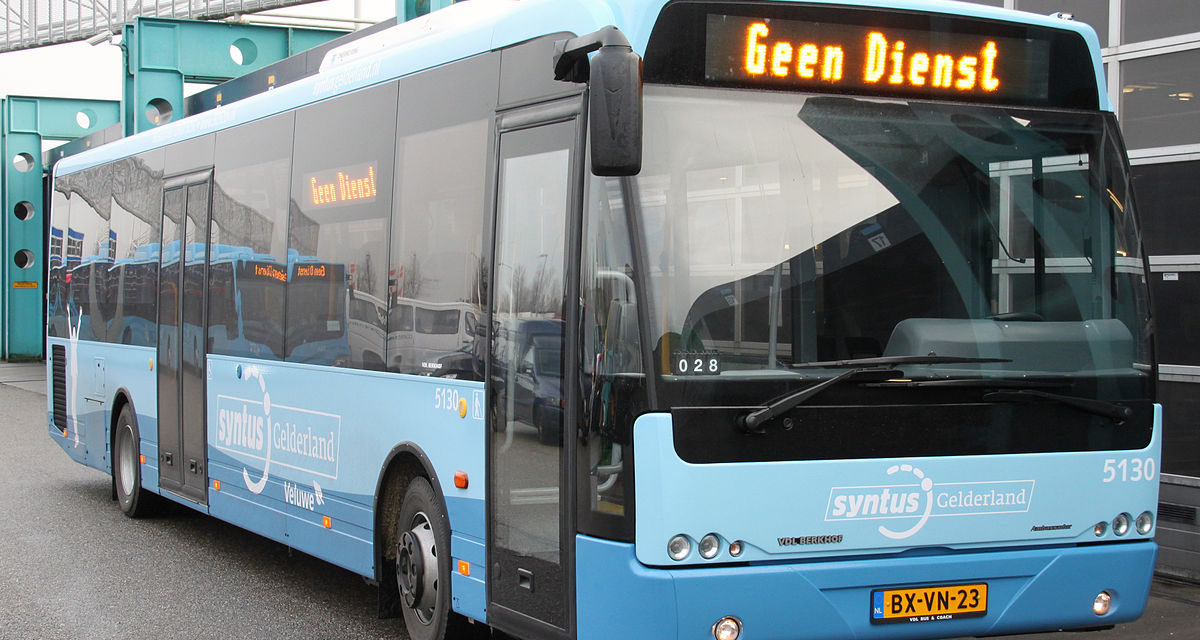 Geen  busverkeer op de Veluwe