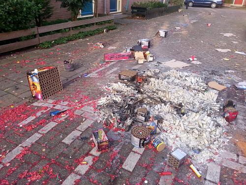 Opgeruimd staat netjes! Inleveren vuurwerkresten loont in de Gemeente Epe!!