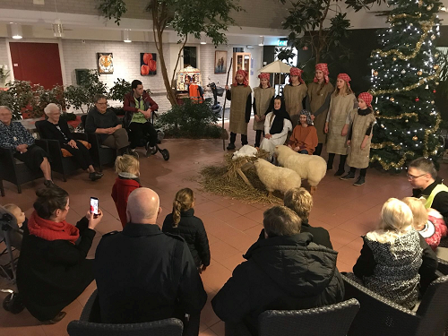 Lichtjestocht basisschool Violier Vaassen 2017