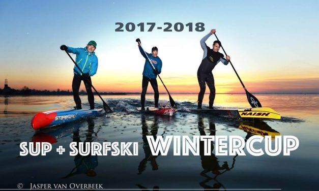21 januari Harderwijk  de SUP + Surfski Wintercup