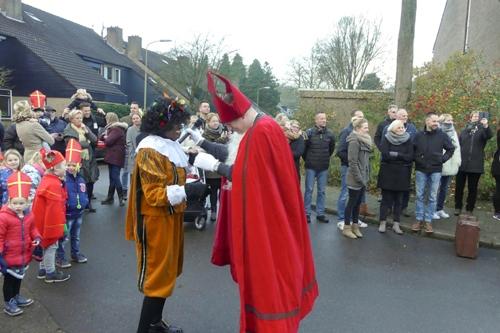 Sinterklaas op bezoek bij de Violier