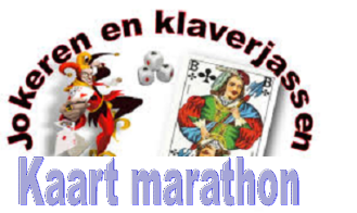 Kaartmarathon bij SV Vaassen