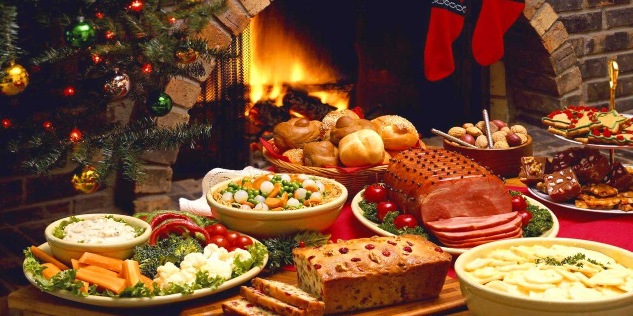Kerst buffet in het wijksteunpunt Bloemfontein