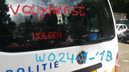 Volgdienst politie Team Veluwe Noord
