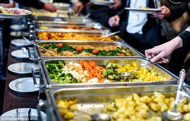 Bouwmeester verzorgt buffet in Bloemfontein