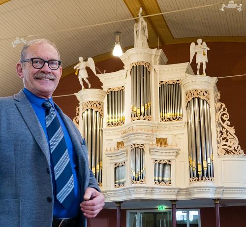 Peter Witteveen 50 jaar organist