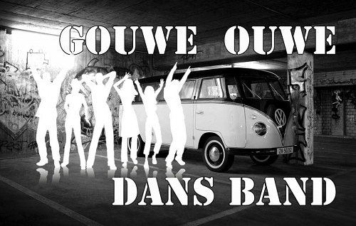 De Gouwe Ouwe Dans Band treedt op in De Ruif