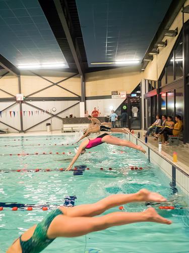 Zwemmathon gezwommen door ZVV