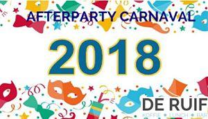 Afterparty Carnaval 2018 in de Residentie van de Rossumdaerpers – De Ruif