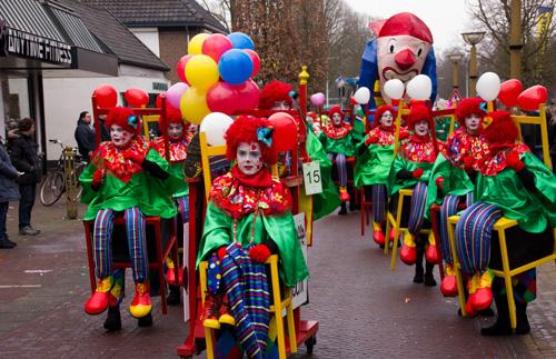 Carnavalsoptocht Deel 3