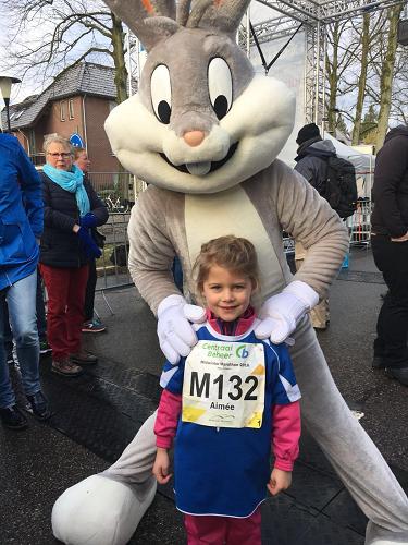 Centraal Beheer midwinter marathon 2018 Basisschool de Sprenge deed zondag j.l mee