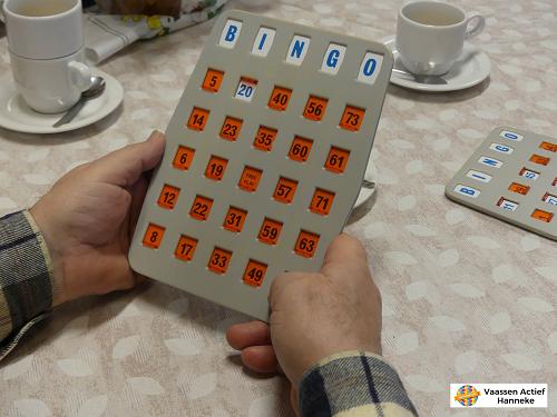 Koffie inloop Hezebrink met Bingo