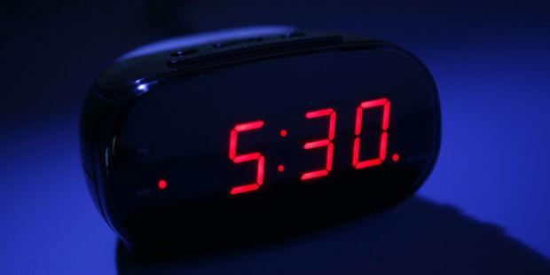 Digitale klokken zijn in de war!