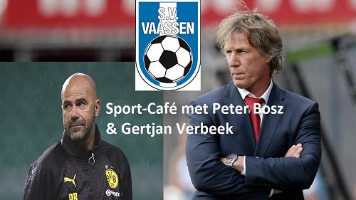 Sport-café bij SV Vaassen met twee top trainers