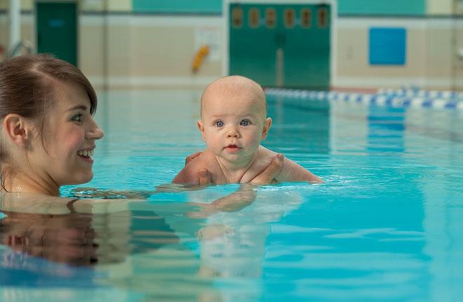 Gratis introductieles babyzwemmen