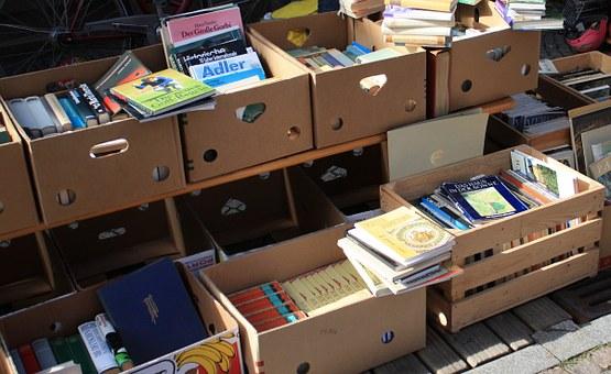 zaterdag 24 maart Boekenmarkt