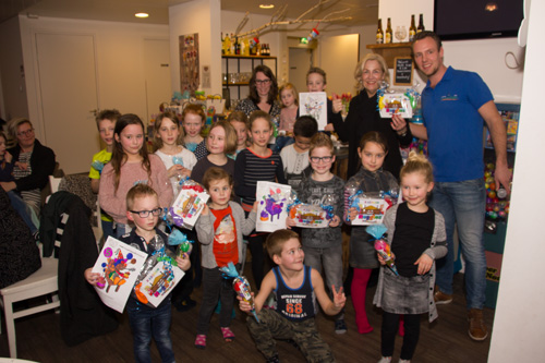 prijsuitreiking kleurwedstrijd Heggies Speelschuur
