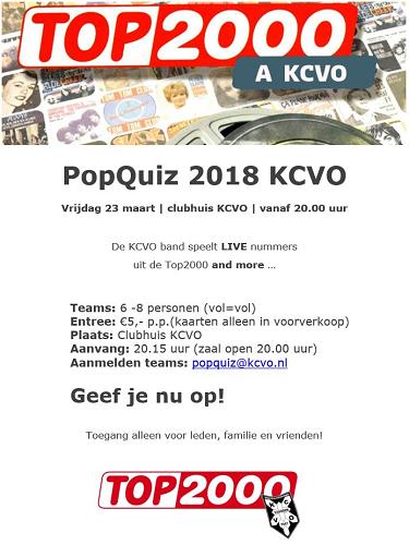 Popquiz 2018 KCVO