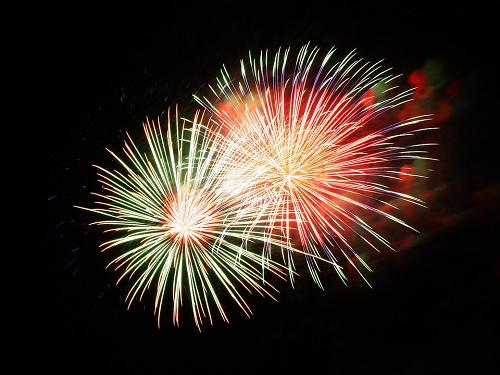 Vuurwerkshow Koningsdag Vaassen bij de Cannenburch