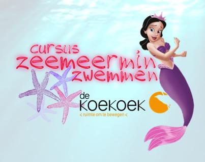 Cursus Zeemeermin Zwemmen bij De Koekoek